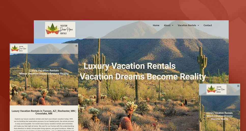 Vacation Dream Home Rentals